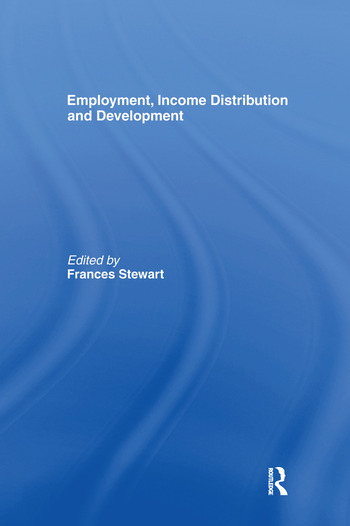 Employment, Income Distribution and Development book cover