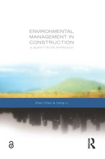 Environmental Management in Construction A Quantitative Approach book cover