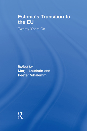 Estonia's Transition to the EU Twenty Years On book cover