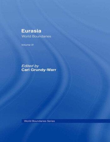 Eurasia World Boundaries Volume 3 book cover