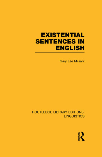 Existential Sentences in English book cover