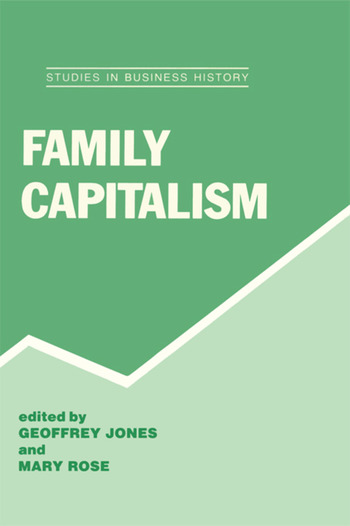 Family Capitalism book cover