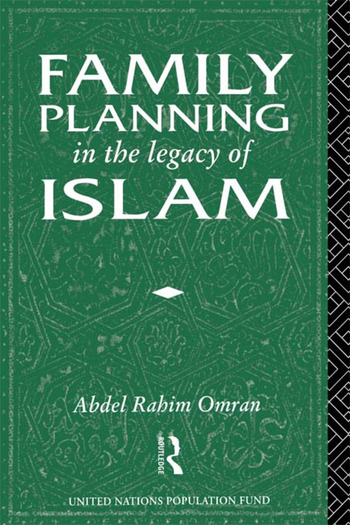 Family Planning in the Legacy of Islam book cover