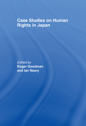 Case Studies on Human Rights in Japan book cover