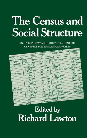 Census and Social Structure book cover