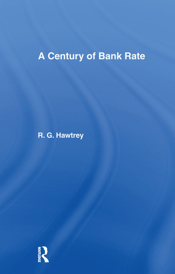 Century of Bank Rate book cover