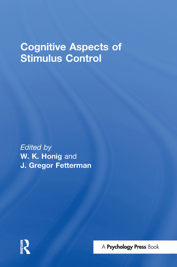 Cognitive Aspects of Stimulus Control book cover