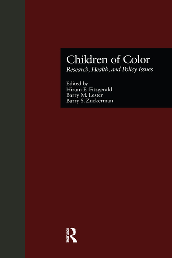 Children of Color Research, Health, and Policy Issues book cover