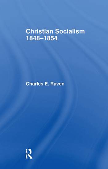 Christian Socialism, 1848-1854 book cover