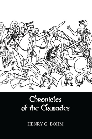 Chronicles Of The Crusades book cover