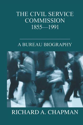 Civil Service Commission 1855-1991 A Bureau Biography book cover