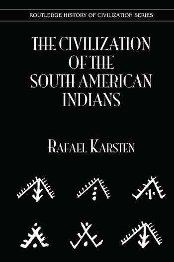 Civilization S Amer Indians book cover