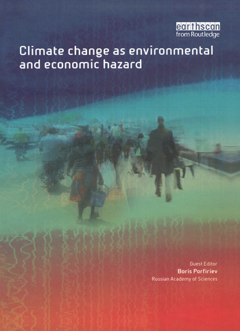 Climate Change as Environmental and Economic Hazard book cover