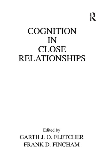 Cognition in Close Relationships book cover