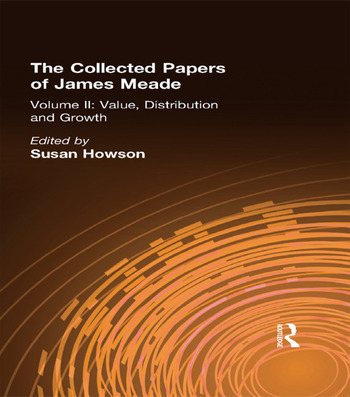 Collected Papers James Meade V2 book cover