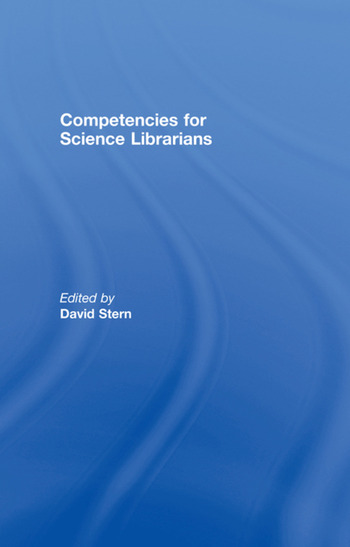 Competencies for Science Librarians book cover