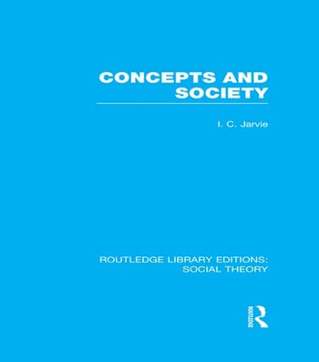 Concepts and Society book cover