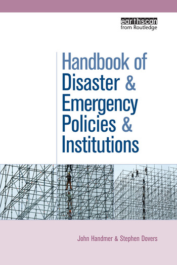 The Handbook of Disaster and Emergency Policies and Institutions book cover