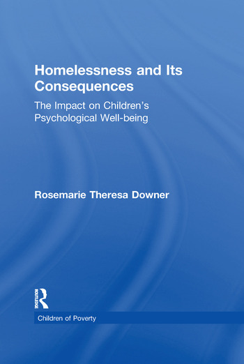 Homelessness and Its Consequences The Impact on Children's Psychological Well-being book cover