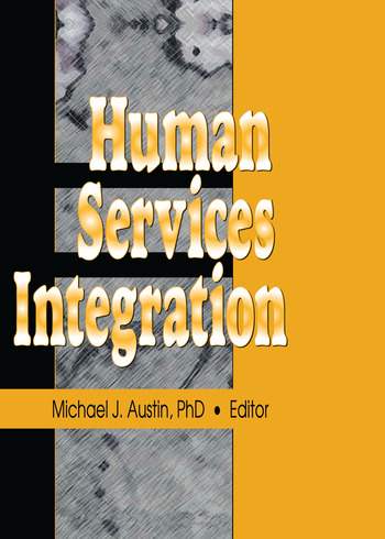 Human Services Integration book cover