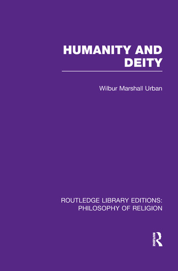 Humanity and Deity book cover