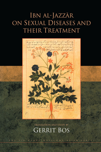 Ibn Al-Jazzar On Sexual Diseases book cover