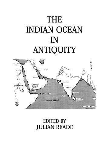 Indian Ocean In Antiquity book cover