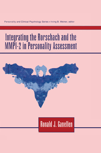 Integrating the Rorschach and the MMPI-2 in Personality Assessment book cover
