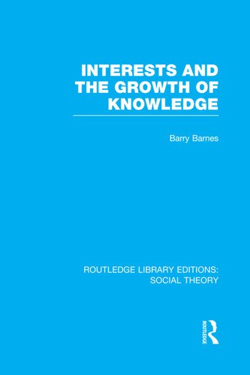 Interests and the Growth of Knowledge book cover