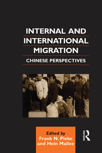 Internal and International Migration Chinese Perspectives book cover