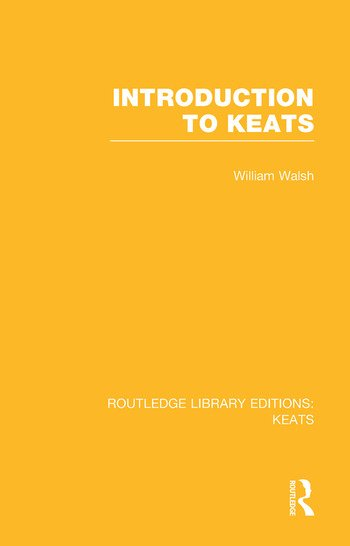 Introduction to Keats book cover