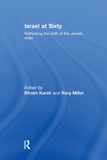 Israel at Sixty Rethinking the birth of the Jewish state book cover