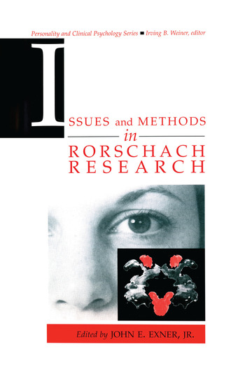 Issues and Methods in Rorschach Research book cover