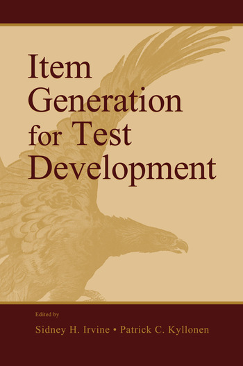 Item Generation for Test Development book cover