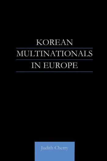 Korean Multinationals in Europe book cover