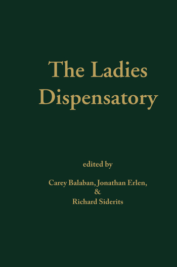 Ladies' Dispensatory book cover