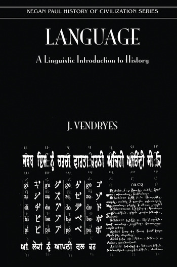 Language And Linguistic Introduction To History book cover