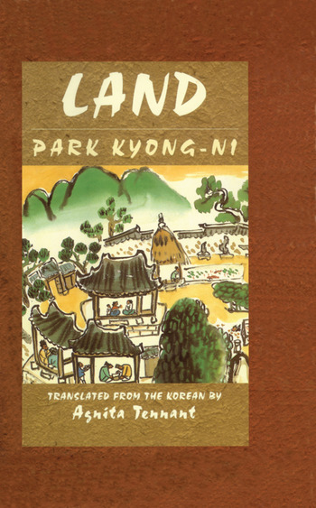 Land book cover