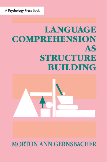 Language Comprehension As Structure Building book cover