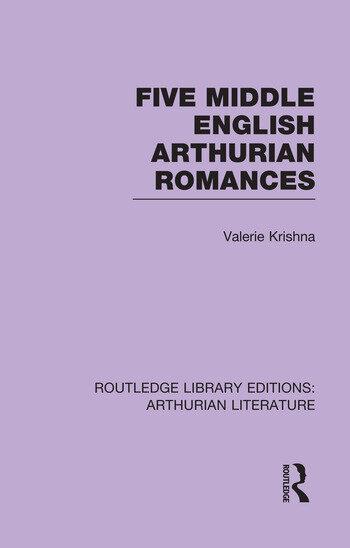 Five Middle English Arthurian Romances book cover