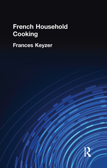 French Household Cookery book cover