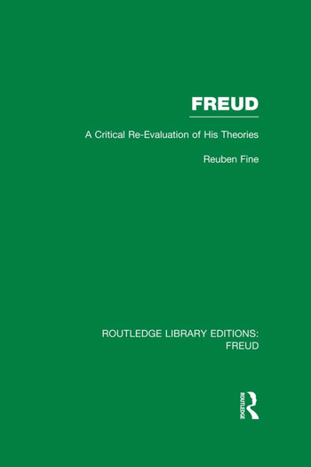 Freud (RLE: Freud) A Critical Re-evaluation of his Theories book cover