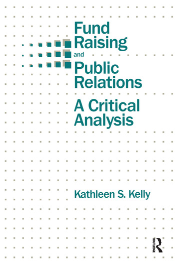 Fund Raising and Public Relations A Critical Analysis book cover