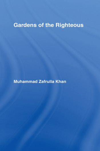 Gardens of the Righteous book cover