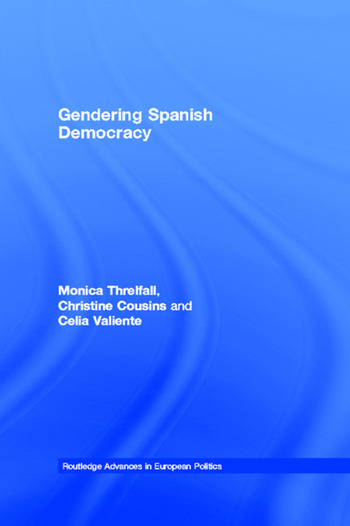 Gendering Spanish Democracy book cover