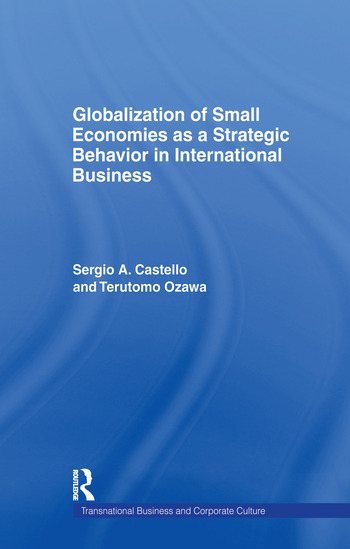 Globalization of Small Economies as a Strategic Behavior in International Business book cover