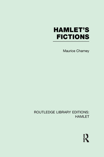 Hamlet's Fictions book cover