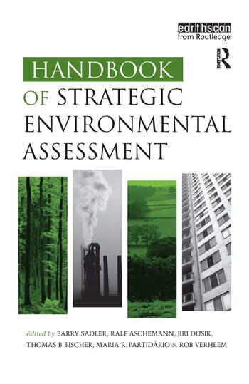 Handbook of Strategic Environmental Assessment book cover