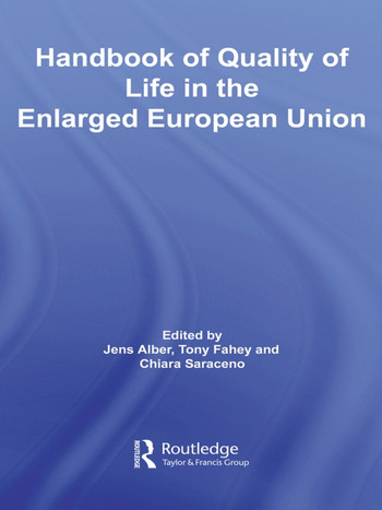 Handbook of Quality of Life in the Enlarged European Union book cover