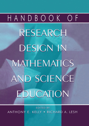 Handbook of Research Design in Mathematics and Science Education book cover